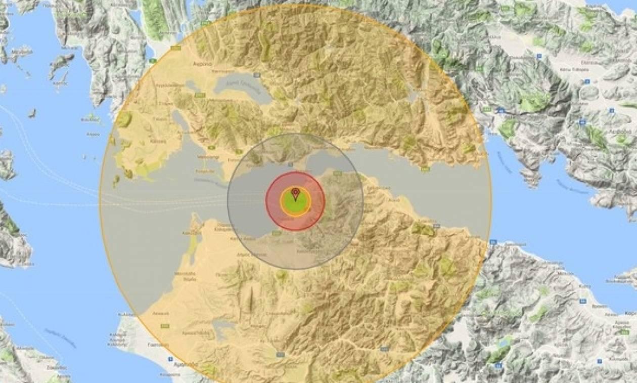 Ρεπορτάζ - σοκ! Δείτε τι ζημιές θα προκαλέσει μια πυρηνική βόμβα αν πέσει στην... Πάτρα