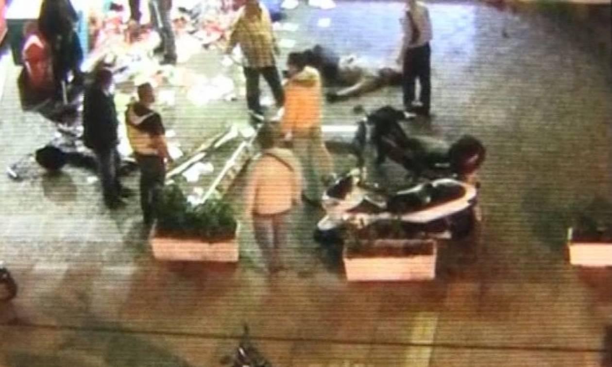 Βίντεο - ντοκουμέντο: Η στιγμή που πολίτες «πιάνουν» το ληστή με το καλάσνικοφ στο Παλαιό Φάληρο