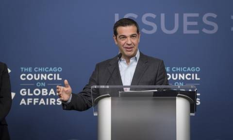 Tsipras: Now the perfect chance to strengthen Greek-US geostrategic cooperation