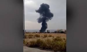 Συνετρίβη στρατιωτικό αεροσκάφος στη Μαδρίτη
