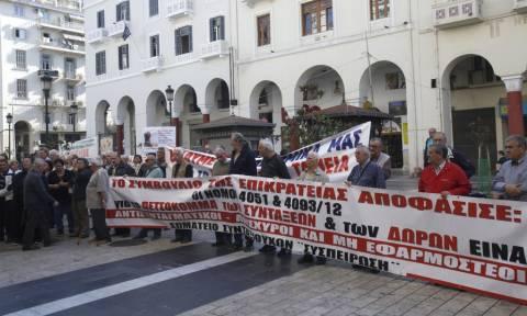 Θεσσαλονίκη: Στους δρόμους και πάλι οι συνταξιούχοι για συντάξεις και περίθαλψη