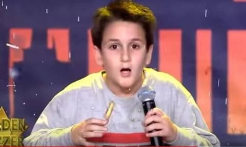 «Ελλάδα έχεις ταλέντο»: Ο 13χρονος Αλέξανδρος που «γκρέμισε» το πλατό και πέρασε στον ημιτελικό!
