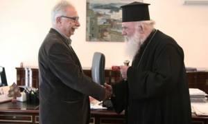 Τετ α τετ Αρχιεπισκόπου με Γαβρόγλου για την εκκλησιαστική περιούσια