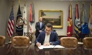 Κυβερνητικές πηγές: Τα συμπεράσματα της συνάντησης Τσίπρα - Τραμπ