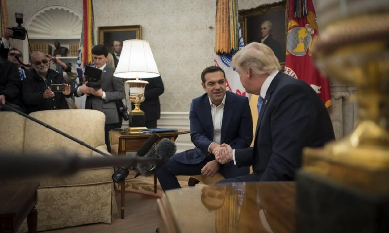CNBC - Το μήνυμα του Τραμπ στον Τσίπρα: Οι ΗΠΑ μπορεί να αυξήσουν τις επενδύσεις στην Ελλάδα