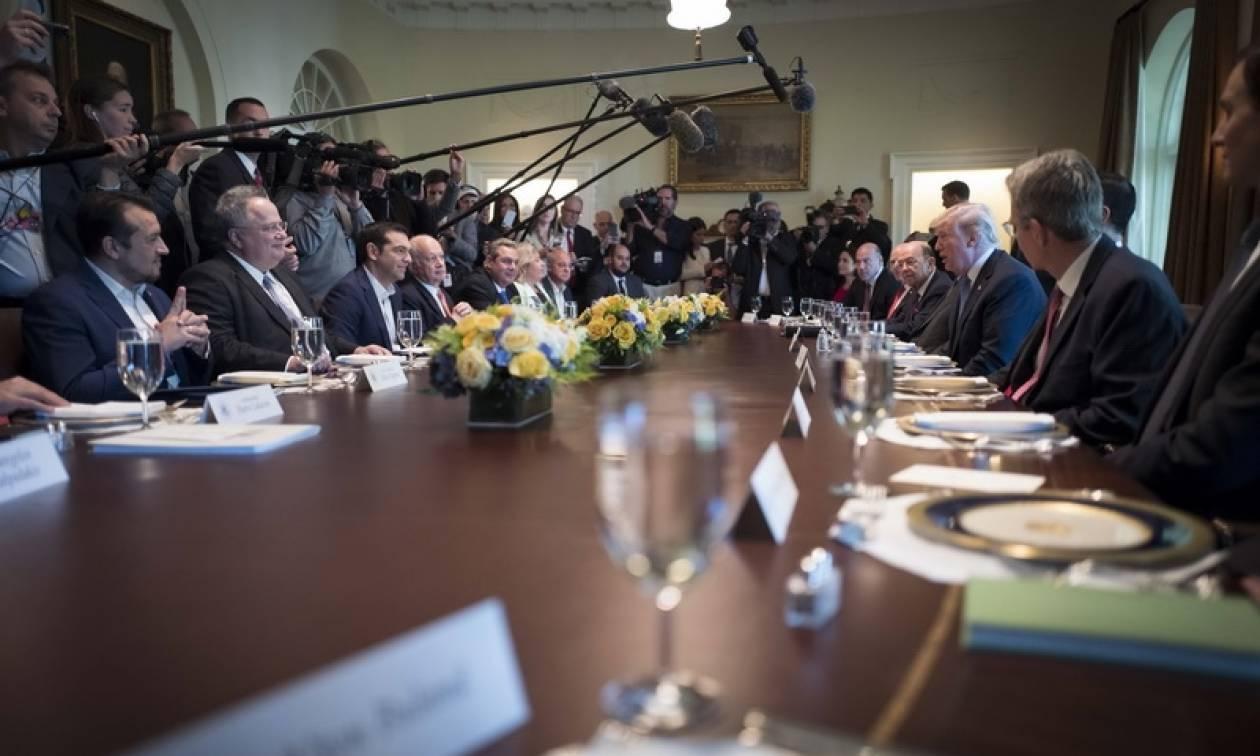Στο «μικροσκόπιο» του γερμανικού Τύπου η συνάντηση Τσίπρα - Τραμπ