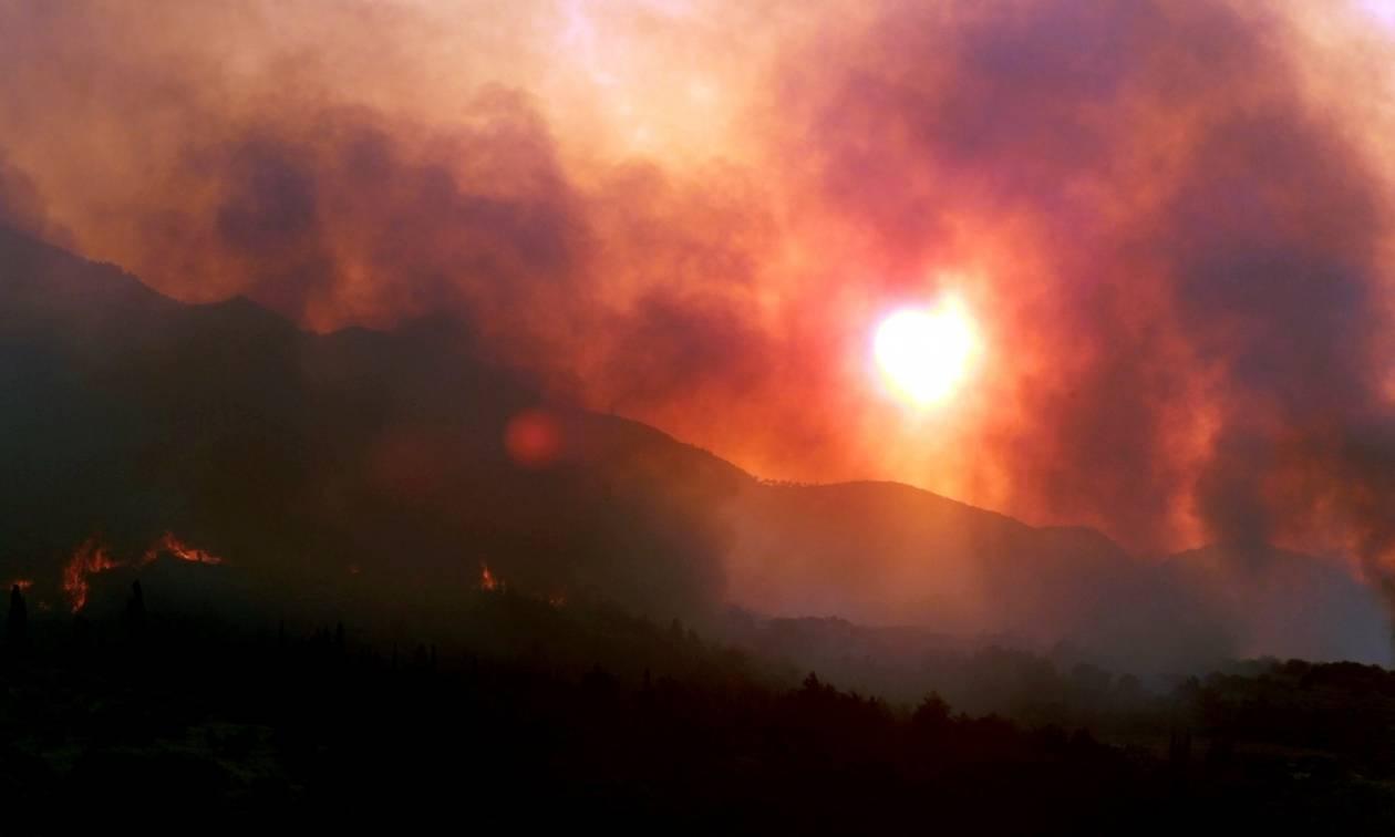 Ηλεία: Στο Θριάσιο ο 52χρονος εθελοντής που τραυματίστηκε στην πυρκαγιά
