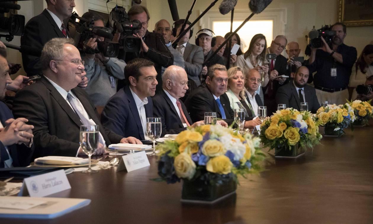 Με τον αντιπρόεδρο Πενς συναντάται ο Αλέξης Τσίπρας