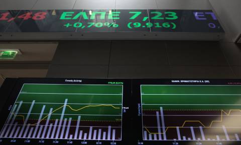 Athens Stock Exchange opening: Slightly up