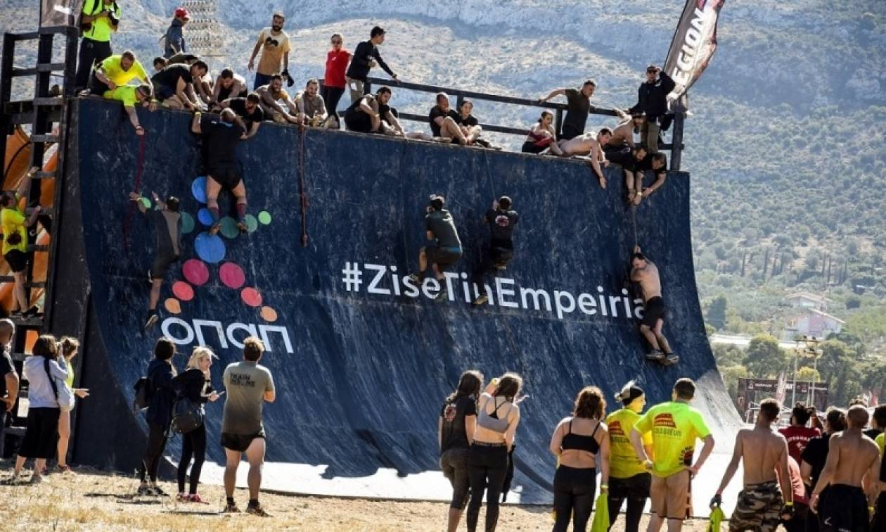 Απόβαση από 2.500 «Λεγεωνάριους» του «Legion Run Athens 2017» στον Ιππόδρομο Αθηνών