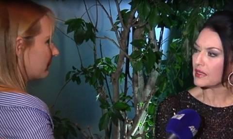 Ελένη Φιλίνη: Η αντίδρασή της όταν η δημοσιογράφος ανέφερε την ηλικία της