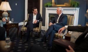 Ο Τσίπρας ζήτησε τη βοήθεια των ΗΠΑ απέναντι στις τουρκικές προκλήσεις