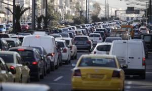 Σοβαρό τροχαίο στη Λεωφόρο Συγγρού