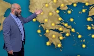 Ερχεται ραγδαία επιδείνωση του καιρού! Τι λέει ο Σάκης Αρναούτογλου (video)