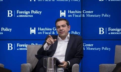 Tsipras expresses content over the results of his visit in the US