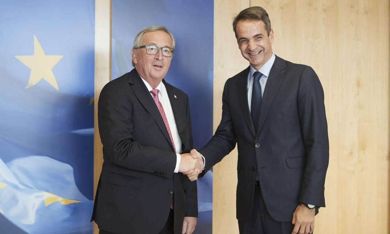 Μητσοτάκης μετά τη συνάντηση με Γιούνκερ: Καθοριστικοί οι επόμενοι 15 μήνες για το μέλλον της ΕΕ