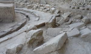 Συγκλονιστικές εικόνες από το αρχαίο θέατρο της Μεσσηνίας: Κερκίδες, εδώλια και θέση για ορχήστρα