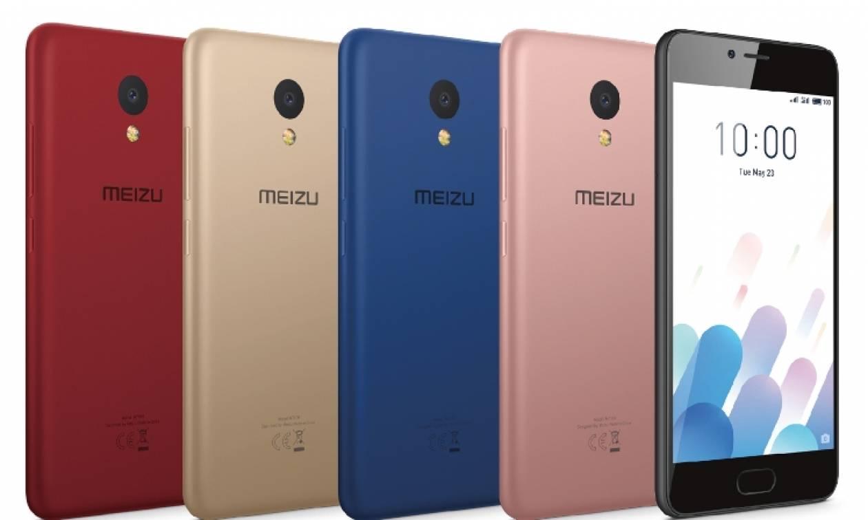 Αποκλειστικά μέσω του δικτύου της Wind το Meizu M5c!
