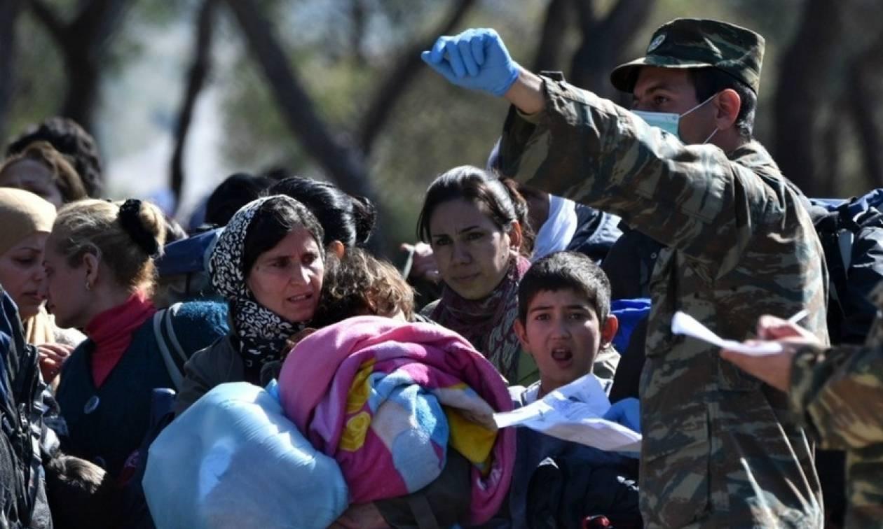 Αυξήθηκαν οι πρόσφυγες και οι μετανάστες που διαμένουν στις δομές Ενόπλων Δυνάμεων