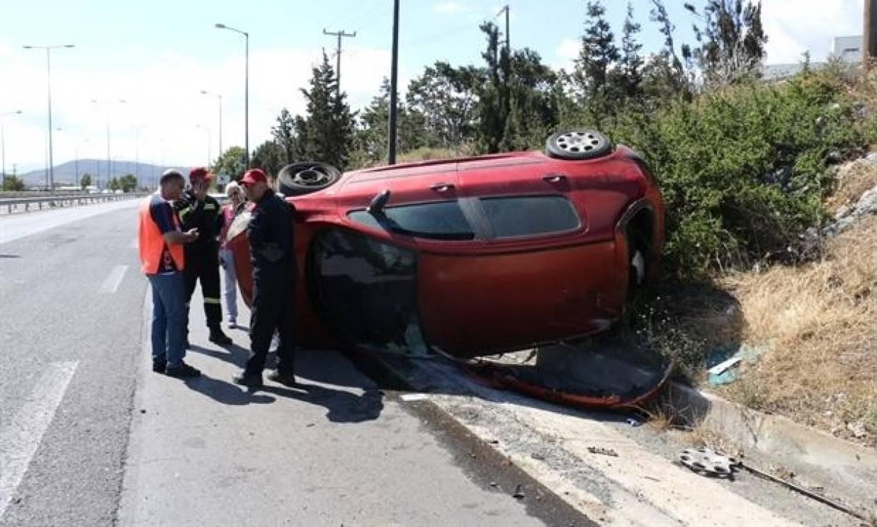 Νέο τροχαίο ατύχημα στην Κρήτη – Εγκλωβίστηκε στα συντρίμμια του αυτοκινήτου η οδηγός