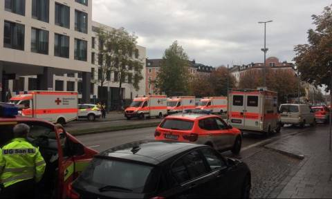 Five people injured in central Munich knife attack – medics