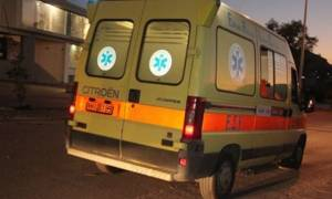 Λαμία: Δύο αδέλφια τραυματίστηκαν σε τροχαίο με μηχανάκι (pics)