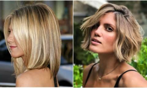 Θέλετε να αλλάξετε τα μαλλιά σας; Διάσημες κυρίες σάς δίνουν ιδέες