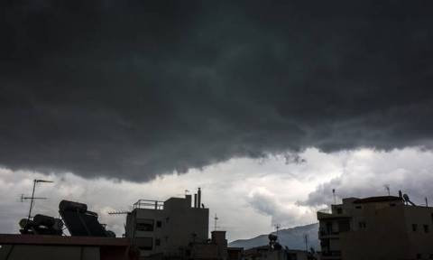 Heavy rain and storms expected from Monday (23/10/2017)