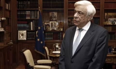 President Pavlopoulos meets with Nicolas Sarkozy