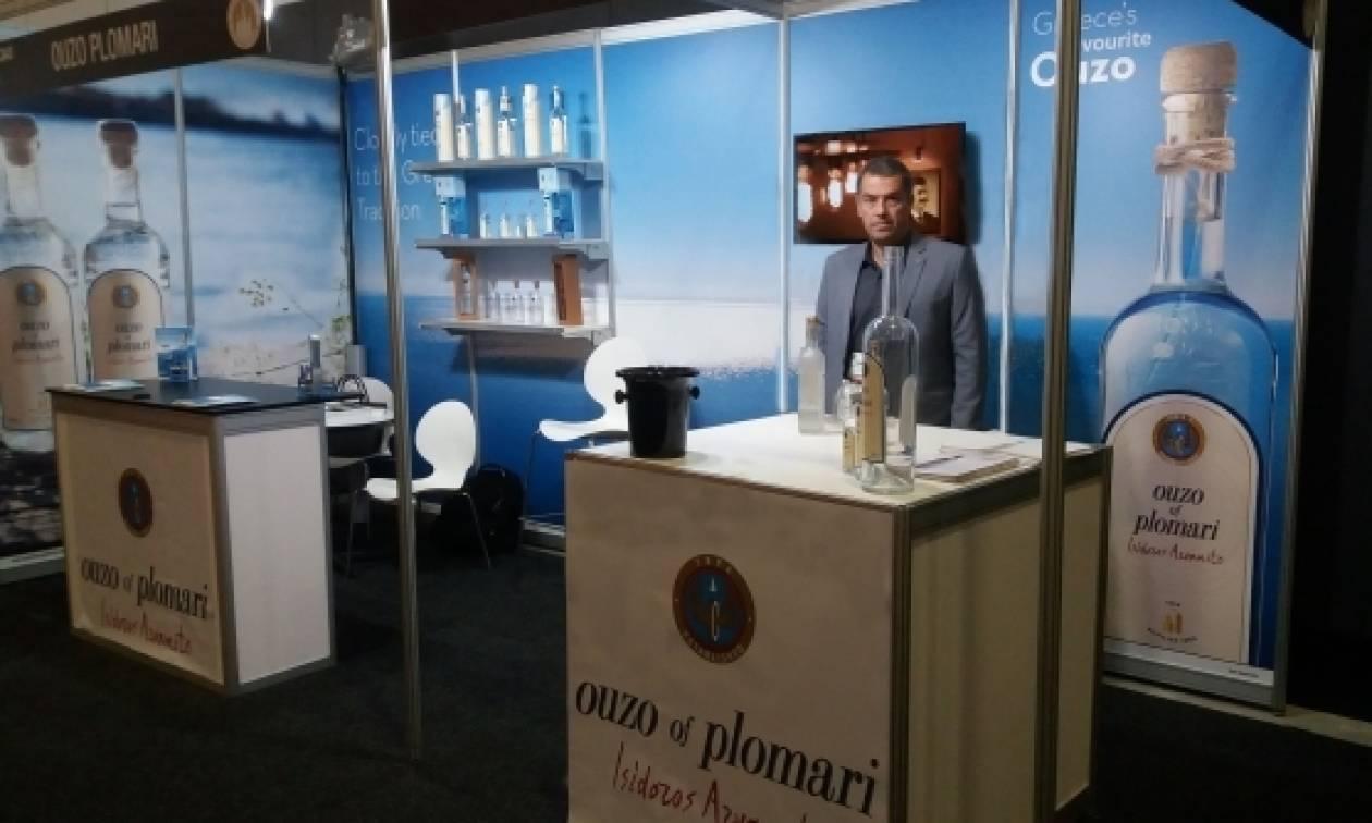 Το Ούζο Πλωμαρίου Ισιδώρου Αρβανίτου ταξιδεύει την Ελλάδα σε κάθε γωνιά της γης