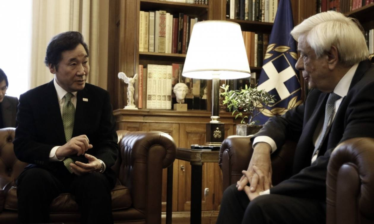 Μήνυμα ειρήνης και συνεργασίας από την συνάντηση Παυλόπουλου – Λι Νακ Γιον