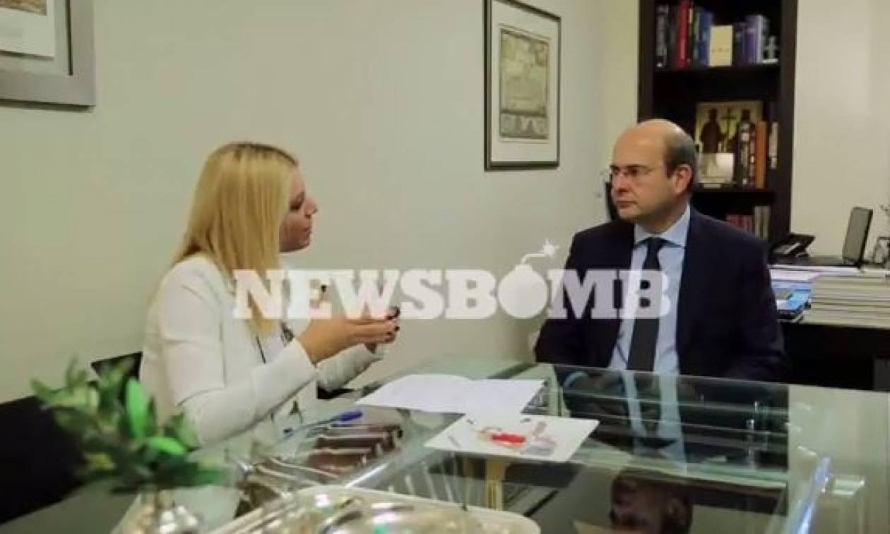 Χατζηδάκης στο Newsbomb.gr: «Η Νέα Δημοκρατία δεν είναι κόμμα θαυματοποιών!» (video)