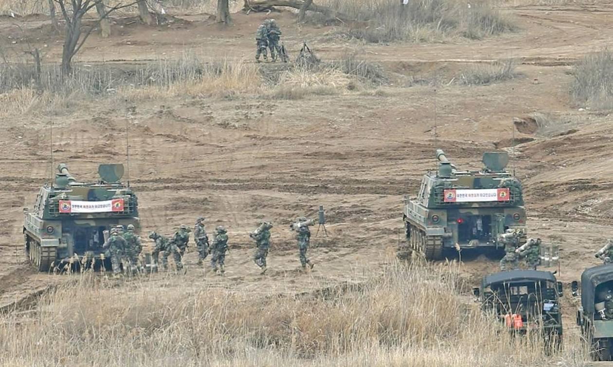 Κοινά στρατιωτικά γυμνάσια ΗΠΑ, Κίνας και νότιας Κορέας για την αντιμετώπιση απειλών