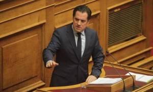 Άδωνις Γεωργιάδης: Ανερυθρίαστο και χυδαίο ψέμα από μία χυδαία «Αυγή»