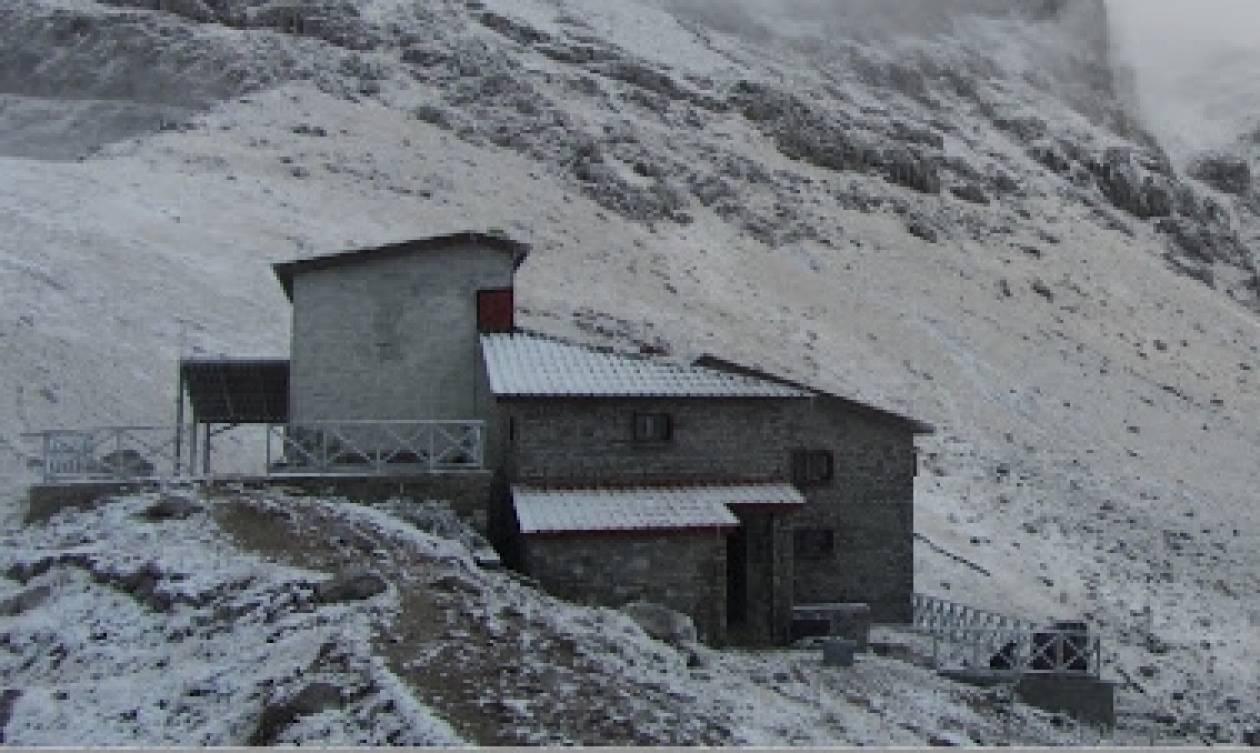 Καιρός: Ο «Δαίδαλος» έφερε τα πρώτα χιόνια στην Ήπειρο (photos)