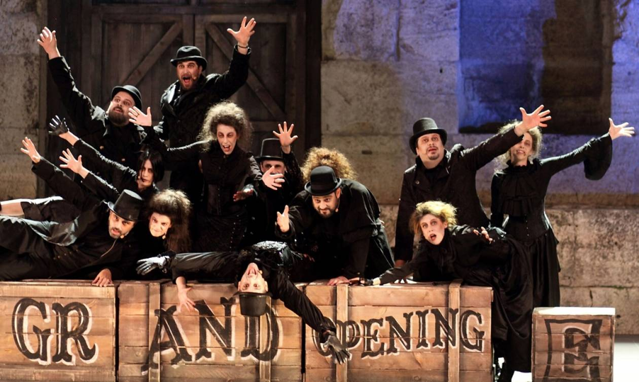 Sweeney Todd: Ο δαιμόνιος κουρέας της Fleet Street επιστρέφει στο Μέγαρο!