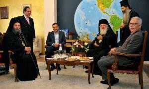 Συνάντηση Ιερώνυμου – Τσίπρα στα Ιωάννινα