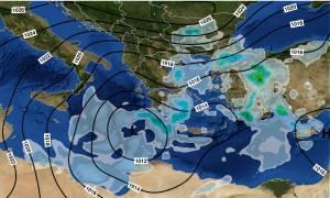 Καιρός: Ο Δαίδαλος «χτυπάει» την Ελλάδα με καταιγίδες, χαλάζι και χιόνια