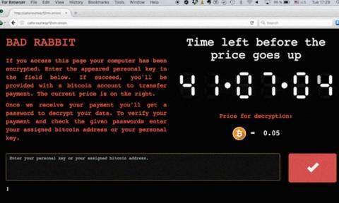 Bad Rabbit cryptoware attack: New virus hits companies