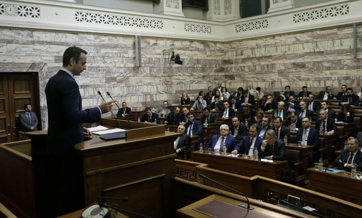 Μητσοτάκης: Η Ελλάδα δεν θα γίνει κανονική χώρα όσο κυβερνούν Τσίπρας - Καμμένος