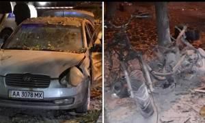 Βομβιστική επίθεση κατά βουλευτή στην Ουκρανία: Ένας νεκρός (pics)