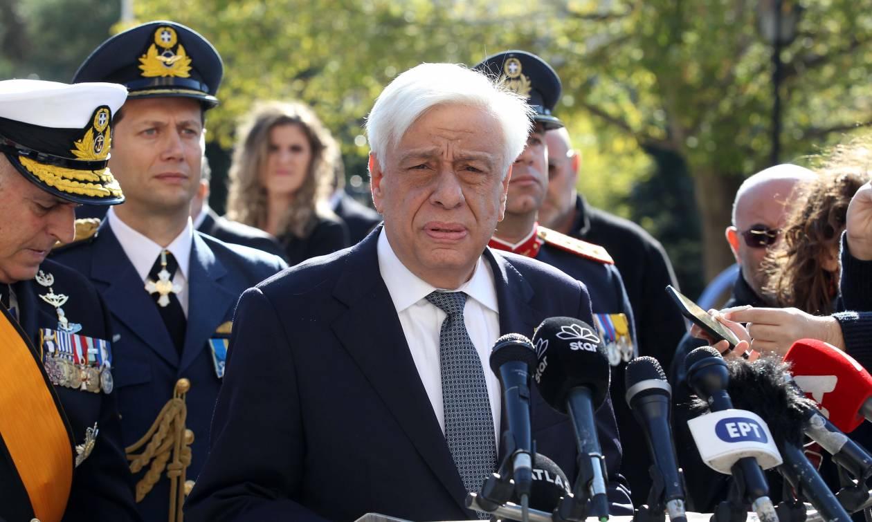 Προκόπης Παυλόπουλος προς Τουρκία: Δεν υπάρχουν «γκρίζες ζώνες» με βάση τη Συνθήκη της Λωζάννης
