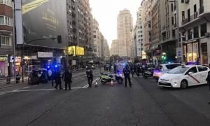 Συναγερμός στη Μαδρίτη: Εκκενώθηκε κεντρικός δρόμος της πόλης