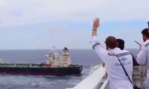 Δείτε τι έγινε όταν συναντήθηκαν δύο αδέρφια, Έλληνες ναυτικοί στον Ινδικό Ωκεανό! (vid)