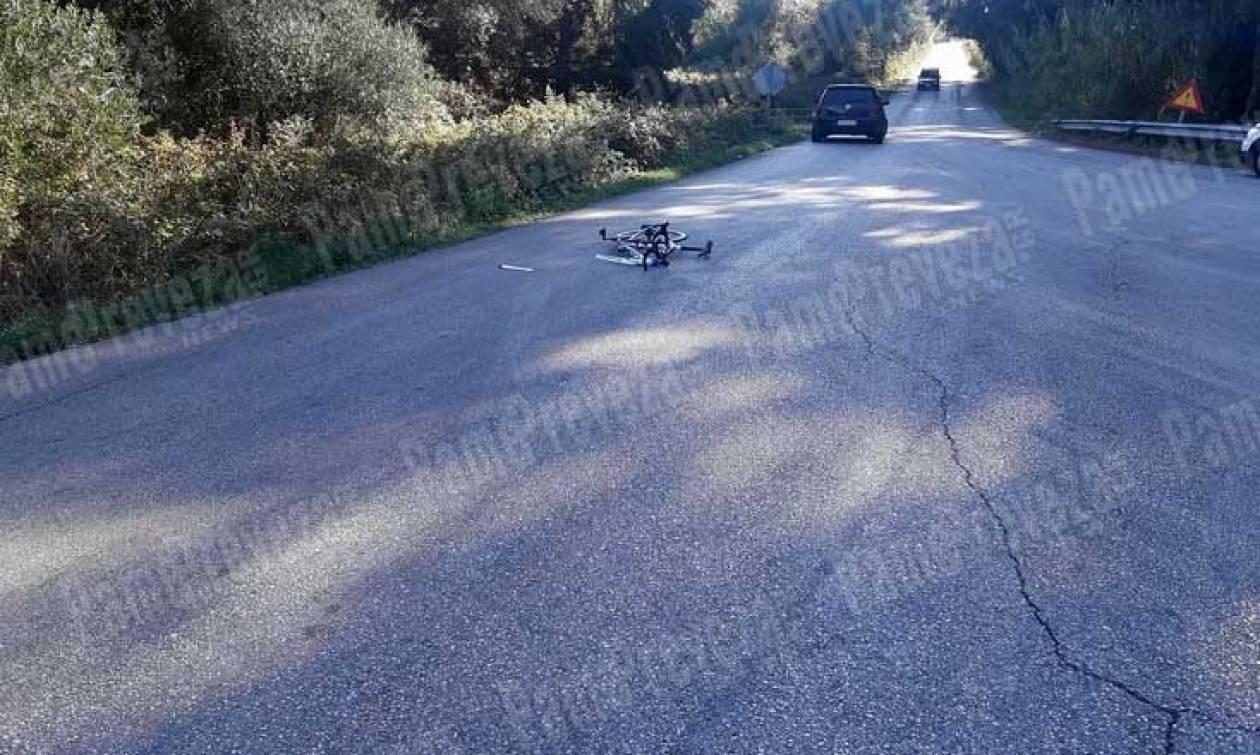 Τραγικό τροχαίο με ποδηλάτη στην Πρέβεζα (photos)
