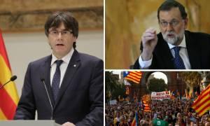 Ανακήρυξε την ανεξαρτησία της η Καταλονία – Ραγδαίες εξελίξεις