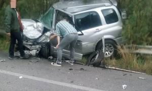 Κρήτη: Καραμπόλα έξι αυτοκινήτων - Εγκλωβίστηκαν επιβάτες σε όχημα
