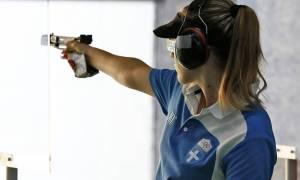 Παγκόσμιο Κύπελλο Σκοποβολής: Στην 8η θέση η Κορακάκη!