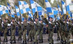 28η Οκτωβρίου 1940: Με ιδιαίτερη λαμπρότητα η στρατιωτική παρέλαση στη Θεσσαλονίκη (pics&vids)
