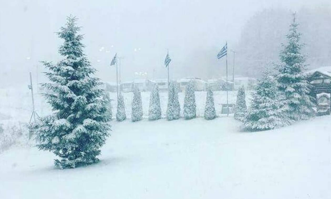 Καιρός: Χιόνισε σε Φλώρινα, Κοζάνη, Καστοριά – Δείτε βίντεο και φωτογραφίες